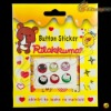 2012 Cute Button Stricker For Iphone 4S/3G, ipad, touch &LF-0625