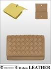 Luxury brand designer short wallet, leather short purse