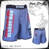 Men's four way stretch blank mma shorts