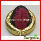 Fashion Red Plume Hat For Promotion
