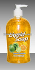 500ml OEM accepted Personal Natural Lemon shower cream
