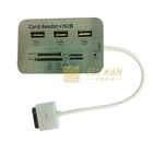 3 Ports USB HUB & 5 In 1 Camera Connection Kit Card Reader