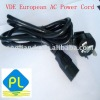 ROHS American AC power cord /Cable for home applications