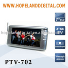 7 Inch mini ATSC TV