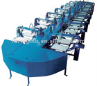 Honde Oval Screen Printing machine(10,12,14,16,18colors)