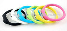 coloful silicone watch / silicone wristband/ion sports band watch