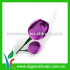 Small Flat Vase Artificial Flower