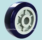 Plastic universal wheels