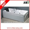 SUN032 1800*860*680mm acrylic whirlpool bathtub