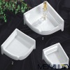 Square soap plate ceramic bathroom accessories bathroom sets