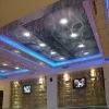 pvc tension ceiling film