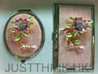 Customized 3D Painting Cosmetic Pocket Mirror Set FZ-DML003