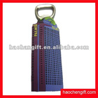 Promotion house shape 3D rubber bottle opener