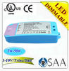 dimmable led driver 300ma 6w/7w/18w