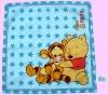 Hot Chirstmas handkerchief for children (famous cartoon characters)