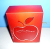 Apple Printed with Silver Hot Foil Perfume Box