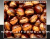 small paked ringent chestnuts snack