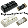 Mini Keyboard Stationery Set Multifunctional Plastic Stationery Set Creative Office Stationery Set School Stationaries Set