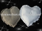 100% polyester polar fleece heart-shaped pillow