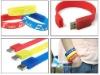 silicone usb wristband