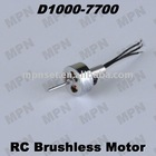 RC Brushless Electric Motor outrunner micro motor D1000-7700
