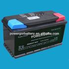 12v 88ah JIS standard mf auto battery(58827-MF)