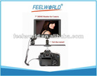 "7"" TFT LCD HDMI Monitor for Camera, with PAL/NTSC System and 12V DC Power"
