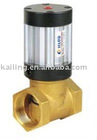 Q22HD 2 way pneumatic piston valves for neutral liquid and gaseous media
