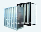 V bank filter ,HEPA compact filter ,V cell HEPA filter