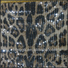 fashion embroidered sequins fabric for party home textile