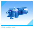 R series helical gear boxes/gear reducer/gear box