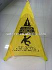 safty Cone floor sign Handy cone floor sign Pop-up floor safty cone sign
