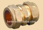Brass Compression Fitting For Copper Pipe (Straight Double)
