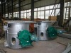 250kg copper melting furnace medium frequency furnace frequency induction furnace steel-making furnace melting furnace