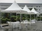 Aluminium pagoda tent