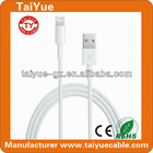 High Quality iPhone5 8pin White USB Cable