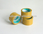 BOPP packing tape-yellow