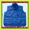 polyester/cotton warm vest