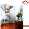 interior metal portable spiral prefabricated stairs