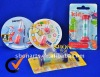 Plastic Sand Timer 2 Minutes Toothbrush Timer