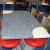 Acrylic solid surface tabletop