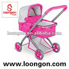 Loongon doll pram baby stroller pretend play toy