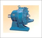 Single horizontal cycloidal gear reducer