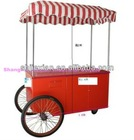 JX-IC140 Stainless Steel Street Ice Cream kiosk