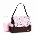 Pink pretty mother bag green
