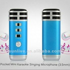 Mini Karaoke Players, with Two channel Stereo Headphones and Stunning KTV Live-sound SUN-ET-011