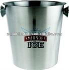 Custom Logo Metal Ice Bucket