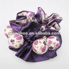 handmade goody hair accessories with foam ball for kids