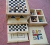 combination wooden gamewooden game ,combination wooden game,international chess