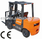 CE approved ISUZU diesel Engine forklift 3.0 tons CPCD30F